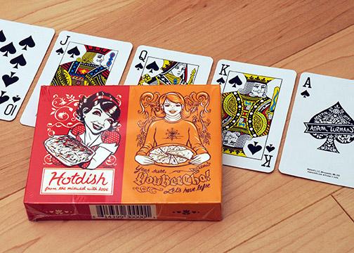 Hotdish YouBetCha Playing Cards