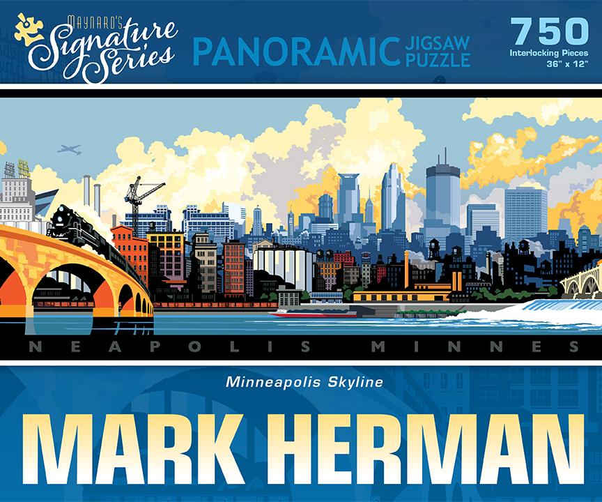 Mark Herman - Minneapolis Skyline