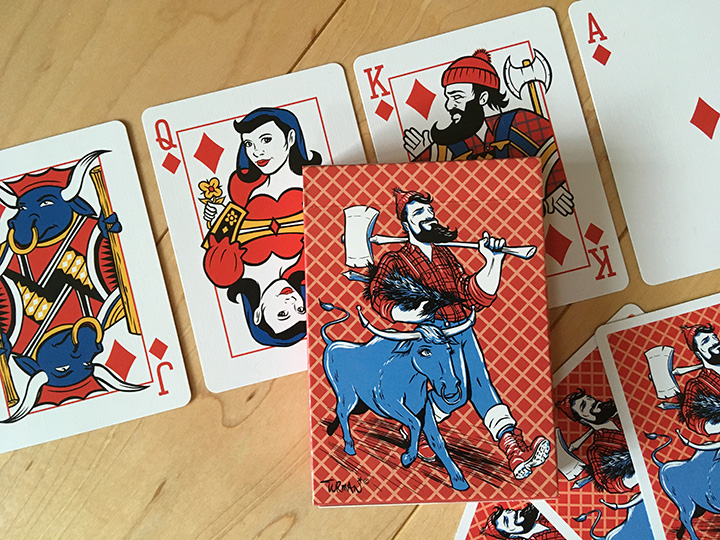 Timber Playing Cards