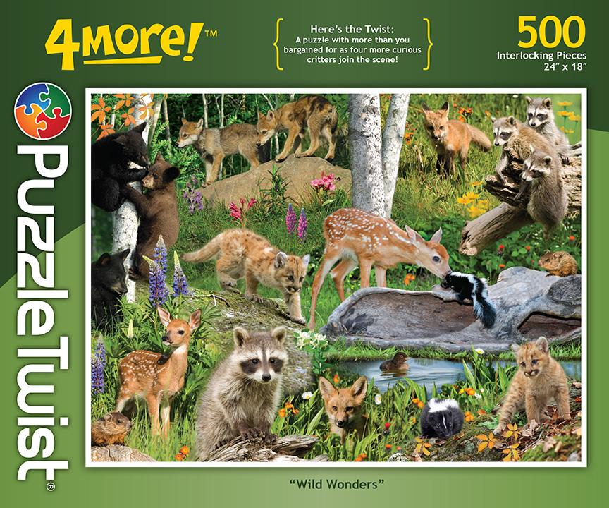 Wild Wonders - 500 Piece